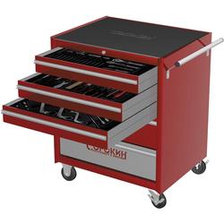 Сорокин 9.10 Инструментальная тележка 130 предметов, 5 отделений Сорокин Мебель металлическая Сервисное оборудование