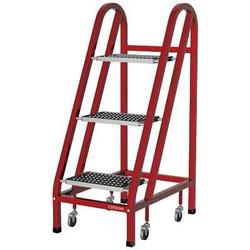 Сорокин 24.10 Лестница подкатная 1м Сорокин Мебель металлическая Сервисное оборудование