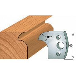 Комплекты ножей и ограничителей серии 690/691 #005 CMT Ножи и ограничители для фрез 40 мм Ножи