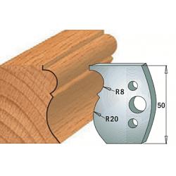 Комплекты ножей и ограничителей серии 690/691 #502 CMT Ножи и ограничители для фрез 50 мм Ножи