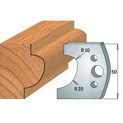 Комплекты ножей и ограничителей серии 690/691 #504 CMT Ножи и ограничители для фрез 50 мм Ножи