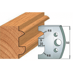 Комплекты ножей и ограничителей серии 690/691 #517 CMT Ножи и ограничители для фрез 50 мм Ножи