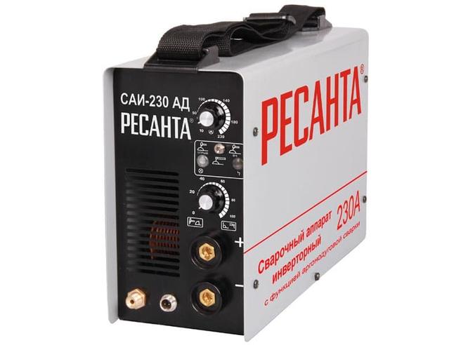Ресанта САИ 230 АД Сварочный аргонодуговой аппарат Ресанта Аргоновая сварка Сварочное оборудование